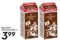 Sealtest Chocolate Milk 2 L