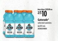Gatorade - 6x591 Ml