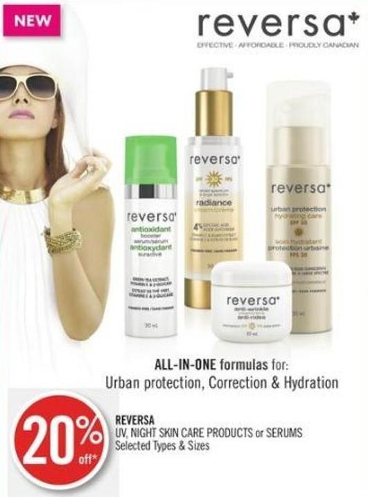 Reversa Uv - Night Skin Care Products or Serums
