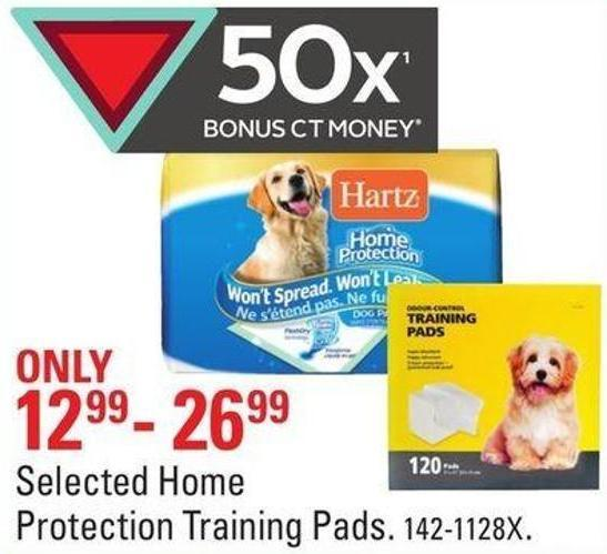 Selected Home Protection Training Pads