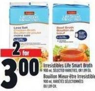 Irresistibles Life Smart Broth 900 ml
