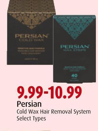 Persian Cold Wax Hair Removal System