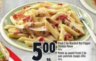 Fresh 2 Go Roasted Red Pepper Chicken Penne