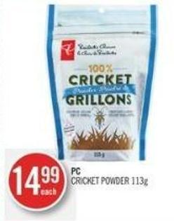 PC Cricket Powder 113g