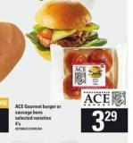 Ace Gourmet Burger Or Sausage Buns