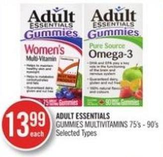 Adult Essentials Gummies Multivitamins