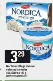 Nordica Cottage Cheese - 450/500/4 X 113 g