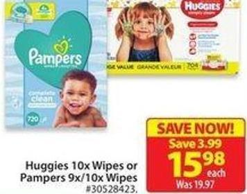 Pampers 9x/10x Wipes