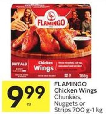 Flamingo Chicken Wings Chunkies - Nuggets or Strips 700 G-1 Kg