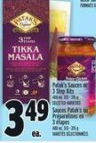 Patak's Sauces Or 3 Step Kits 400 ml - 313 - 315 g