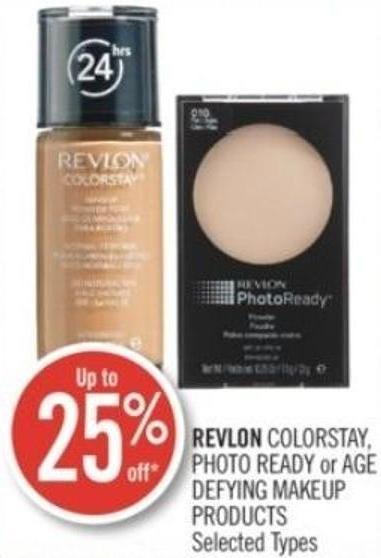 Revlon Colorstay - Photo Ready or Age Defying Makeup Products