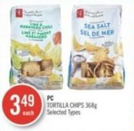 PC Tortilla Chips 368 g