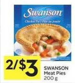 Swanson Meat Pies 200 g