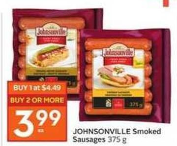 Johnsonville Smoked Sausages 375 g