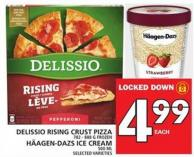 Delissio Rising Crust Pizza Or Häagen-dazs Ice Cream