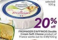 Fromager D'affinois Double Cream Soft Cheese
