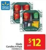 Glade Candles 4-pack