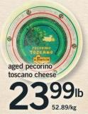 Aged Pecorino Toscano Cheese