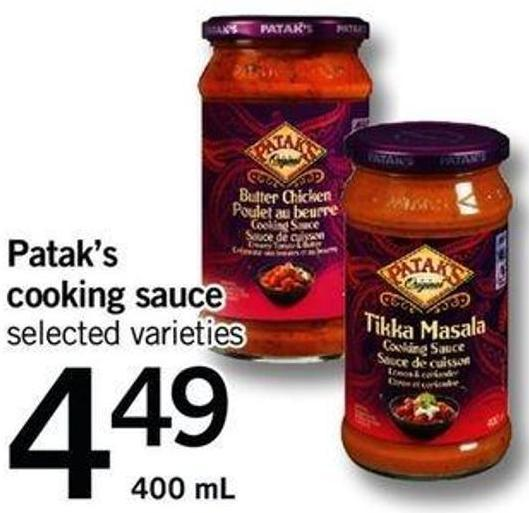 Patak's Cooking Sauce  - 400 Ml