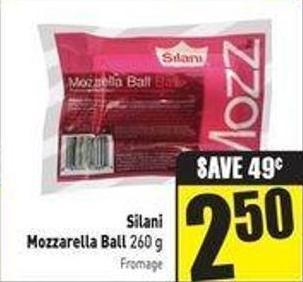 Silani Mozzarella Ball 260 g