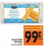 Selection Wafers