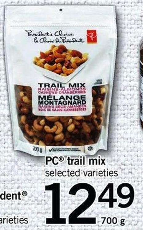 PC Trail Mix - 700 G