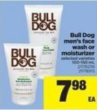 Bull Dog Men's Face Wash Or Moisturizer - 100-150 mL