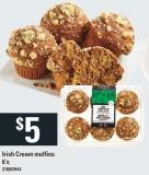 Irish Cream Muffins