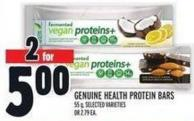 Genuine Health Protein Bars 55 g