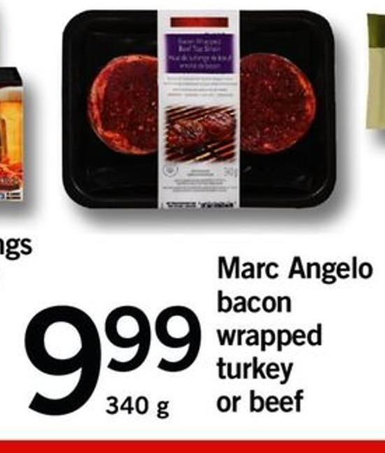 Marc Angelo Bacon Wrapped Turkey Or Beef