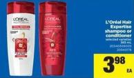 L'oréal Hair Expertise Shampoo Or Conditioner - 385 mL
