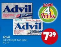 Advil Extra Strength Pain Relief 24 - 32