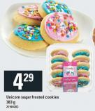 Unicorn Sugar Frosted Cookies - 383 g