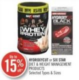 Hydroxycut or Six Star Diet & Weight Management Products