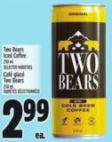 Two Bears Iced Coffee