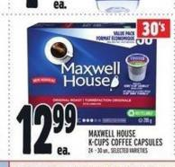 Maxwell House K-cups Coffee Capsules