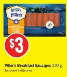 Piller's Breakfast Sausages 250 g