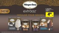 Häagen-dazs Ice Cream - 475/500 mL or Bars - 3's