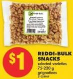 Reddi-bulk Snacks - 75-220 g