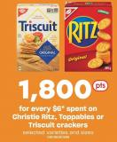 Christie Ritz - Toppables Or Triscuit Crackers
