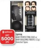 Toppik Hair Perfecting Duo or Hair Building Fibers (12g)