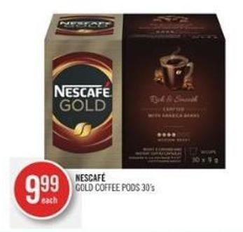 Nescafé Gold Coffee PODS 30's