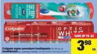 Colgate Super Premium Toothpaste - 70-170 Ml Or Toothbrush - Ea.