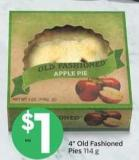 4in Old Fashioned Pies