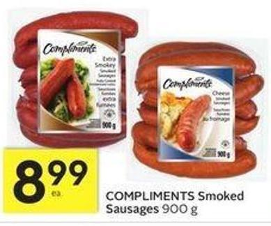 Compliments Smoked Sausages