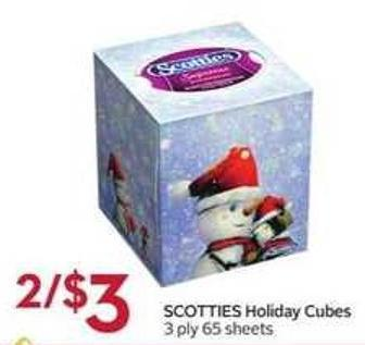 Scotties Holiday Cubes