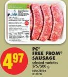 PC Free From Sausage - 375/500 G