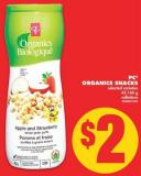 PC Organics Snacks - 42-160 g