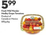 Fresh Wild Wonder Medley Grape Tomatoes
