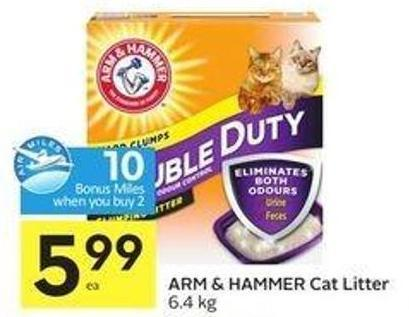Arm & Hammer Cat Litter - 10 Air Miles
